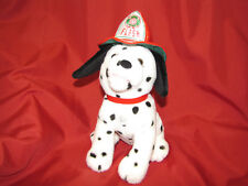 Flash the Firedog Dayton Hudson Santa Bear Plush Dalmation fire dog Xmas