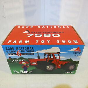 Ertl Allis-Chalmers 7580 Tractor 2008 National Farm Toy Show 1/32  AC-29709P-B2