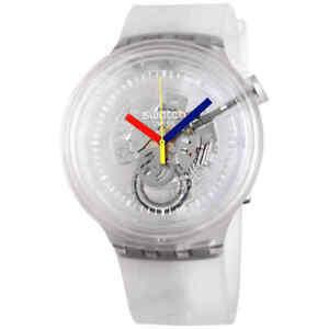 Swatch Big Bold Jelly Quartz Men's Watch SO27E100