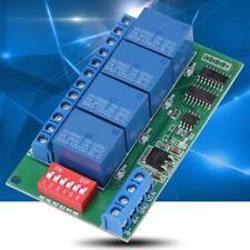 Modulo Relè Temporizzato RS485 12V 4CH Temporizzatore con Ritardo Regolabile