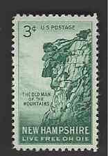 Scott# 1068  3c NEW HAMPSHIRE - mnhog - (A-7)