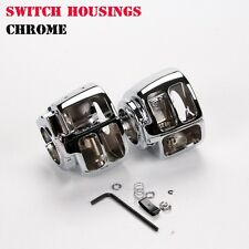 Handlebar Switch Housings Covers For Suzuki GSX-R 1000/1300/750/600 2007-2009