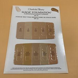 NEW, Charlotte Tilbury Magic foundation Flawless Long-lasting, 0/Fair-6.5 Medium