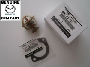 Mazda RX7 SA22C S1, S2 & S3 (1978-1984) NEW Genuine OEM Thermostat and Gasket