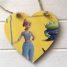 Toy Story 4 Bo Peep Hanging Wall Door Hanger Sign Handmade Plaque