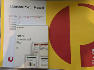 (Express POST) Microsoft Office 2019 Professional Plus for Windows PC USB + Key