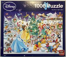 King 'DISNEY CHRISTMAS' 1000-Piece Jigsaw Puzzle - Immaculate A* Condition