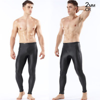 Men's 2mm CR Neoprene Pocket Diving Pants Scuba Snorkeling Wetsuits Long Pants