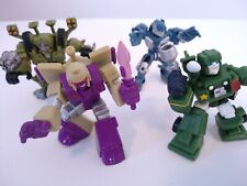 Transformers Universe Robot Heroes - Brawl, Jazz, Autobot Hound & Blitzwing G1