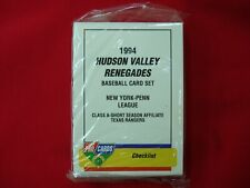 1994 HUDSON VALLEY RENEGADES K. BROWN MINOR LEAGUE TEAM SET FLEER PROCARDS NICE