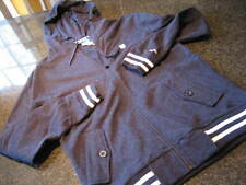 NWT - Mens K-SWISS Front Zip Hooded Navy Blue Sweatshirt Jacket (MED)