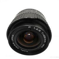 Carl Zeiss Jena 28mm F2.8 Lens Praktica PB Mount - Fully Working #LS-2067