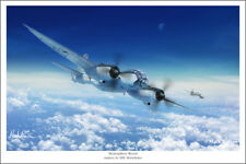 "Junkers JU 388 Störtebeker Aviation Art Print - 16"" x 24"""