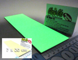 Glow-On  7 x 20cm Super Glow Film For Gun Sights and Safety Marks