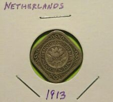 1913 NETHERLANDS 5C World Coin