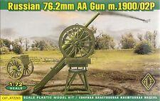 Ace 1/72 (20mm) 76.2mm Russian AA Gun m1900 & Limber