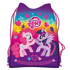My Little Pony Drawstring Shoe Bag Dance Swim Gym Sports PE MLP Girls