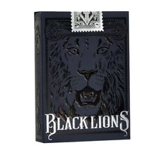 Black Lions Playing Cards Deck by David Blaine
