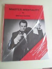 More details for master mentality by stanton carlisle - magic book unused unopened in cellophane