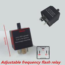 3 Pin Adjustable Electronic LED Flasher Relay for Car Turn Signal Blinker Light