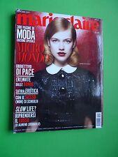 Marie Claire rivista moda fashion magazine Ottobre 2011 Anabel van Toledo cover
