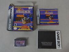 Millipede Super Break-out Lunar Lander Nintendo Gameboy Advance Complete