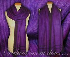 Soie sauvage dans écharpes et châles pour femme   eBay 248f608dec2
