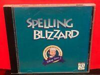 Spelling Blizzard Talking Tutor PC GAME - A554