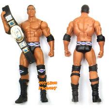 Nation of Domination WWF WWE Elite The Rock w/ Belt Wrestling Action Figure Toy
