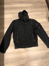 Levis Navy Blue Zip Up Windbreaker Jacket Size L