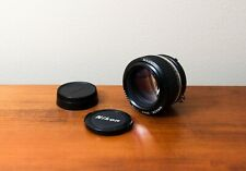 Beautiful Nikkor AI-s 50mm f1.2 - Clean and Clear Glass - Nikon - Fast Lens