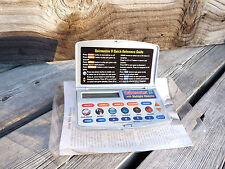 Excalibur Quizmaster Ii 382-2 Electronic Handheld Game New
