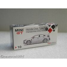 Honda Civic Type R (FK8) Championship White (RHD) MINI GT 1/64 #MGT00010-R