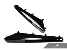 AUTOTECKNIC GLOSS BLACK REPLACEMENT FENDER VENT GRILLE GILL - BMW E90 E92 E93 M3