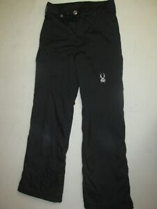 Spyder Girl's Mimi Ski Pants * Black * Size 18 * FREE SHIPPING!!