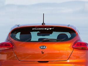 Kia Pro Ceed GT Sticker for Rear Window, emblem, decals, labels, logo #11