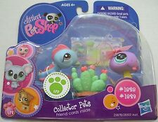 Littlest Pet Shop Collector Pets Snake and Iguana #1828/#1829 - New