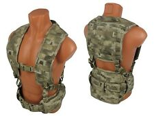 Russian Vest military army paintball tactical airsoft chest rig molle atacs au