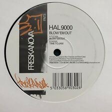 "Hal 9000 Blow 'Em Out Freskanova Breaks Breaksbeat 12"" DJ Vinyl Icey Amen"