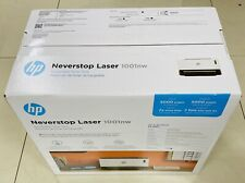 New Sealed HP - Neverstop 1001nw Wireless Black-And-White Laser Printer - White