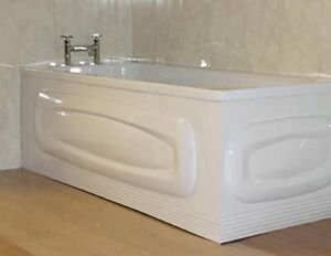 Collage Oval White Gloss Acrylic 1700mm X 526mm Bath Front Panel (151/000)