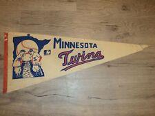 "Vintage 1969 Minnesota Twins Major League Baseball MLB Pennant 29"" Flag"
