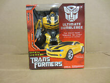 Transformers 2007 movie Hero Comes To Life Ultimate Bumblebee 14in Hasbro new