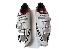 Shimano SH-R320W Carbon Road Bike Shoes EU 43.5 US Men 9.3 3 Bolt White R320