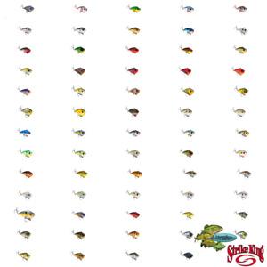 Strike King Crankbait Red Eye Shad Lipless Rattle Trap REYESD Any Size or Color
