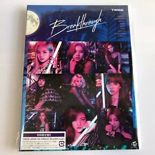 TWICE Breakthrough First Limited Edition CD Free Shipping