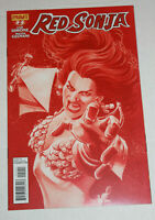 Red Sonja #2 Nikola Scott Cover Print 1:25 Red NM+ 2013 Dynamite Comics Simone