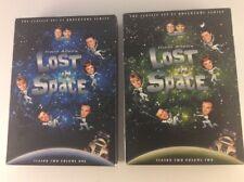 Lost in Space - Season 2: Vol. 1 & Vol. 2 Lot (DVD, 2009, 8-Discs)