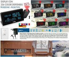 LOWELL JD9711 STAZIONE BAROMETRICA METEOROLOGICA 256 COLORI SENSORE BARCA CASA