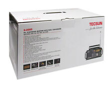 TECSUN S-2000 HAM Amateur Radio SSB Dual Conversion PLL FM/MW/SW/LW from JPN F/S